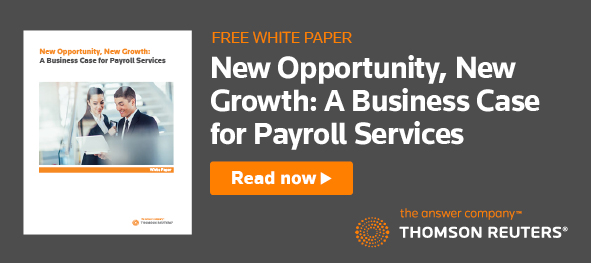 FREE WHITE PAPER. New Opportunity, New Growth: A Business Case for Payroll Services. Read Now